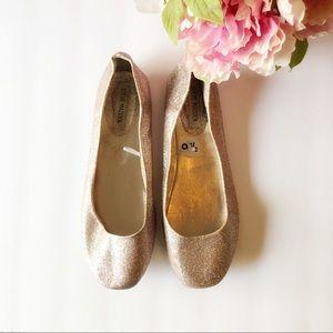 ▫️Steven Madden▫️ pink glitter flats shoes